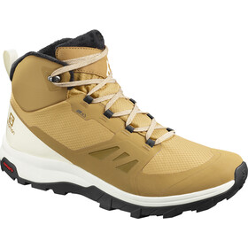 Salomon Outsnap CSWP Shoes Men bistre/vanilla ice/black